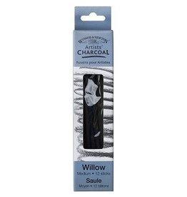 WINSOR & NEWTON WILLOW CHARCOAL BOX/3 MEDIUM