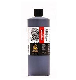 SPEEDBALL SUPER BLACK INDIA INK 32oz