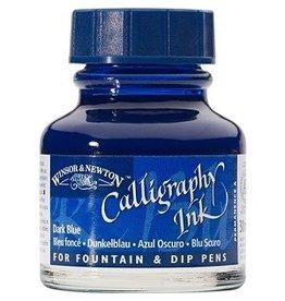 WINSOR & NEWTON CALLIGRAPHY INK 30ml DARK BLUE