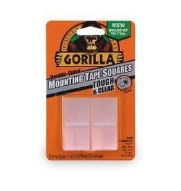 GORILLA GLUE GORILLA CLEAR MOUNTING SQUARES 24PK