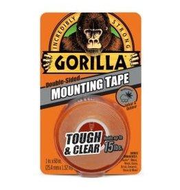 GORILLA GLUE GORILLA CLEAR MOUNTNG TAPE