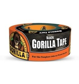 GORILLA GLUE GORILLA HEAVY DUTY BLACK TAPE 12YD