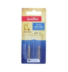 SPEEDBALL #22B TWIN PACK NIBS