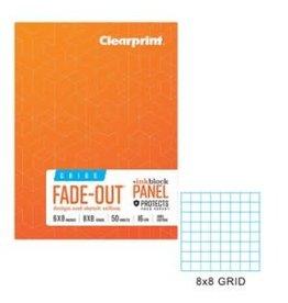 CLEARPRINT CLEARPRINT FIELD BOOK GRID 6X8
