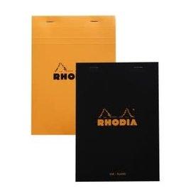 RHODIA RHODIA BLACK BLANK PAD 6X8.25