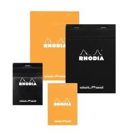 RHODIA RHODIA BLACK DOT PAD 6X8.25