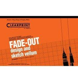 CLEARPRINT 1000H DESIGN VELLUM ISOMETRIC 50 SHEET PAD 11X17