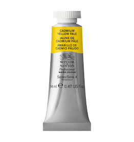 WINSOR & NEWTON PROFESSIONAL WATERCOLOR 14ml TUBE CADMIUM YELLOW PALE