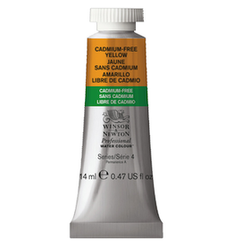 WINSOR & NEWTON PROFESSIONAL WATERCOLOR 14ml TUBE CADMIUM-FREE YELLOW