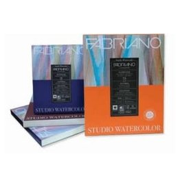 FABRIANO FABRIANO STUDIO W/C PAD 300g 9X12 HP