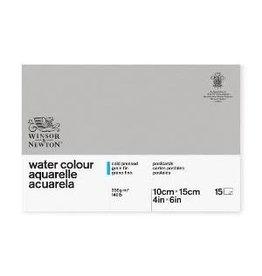WINSOR & NEWTON CLASSIC WATERCOLOR POSTCARD PAD 140CP 4X6