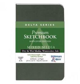 STILLMAN & BIRN DELTA SKETCHBOOK SOFTCOVER 3.5X5.5