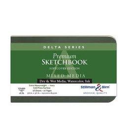 STILLMAN & BIRN DELTA SKETCHBOOK SOFTCOVER 5.5X3.5
