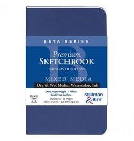 STILLMAN & BIRN BETA SKETCHBOOK SOFTCOVER 3.5X5.5