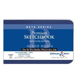 STILLMAN & BIRN BETA SKETCHBOOK SOFTCOVER 5.5X3.5