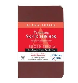 STILLMAN & BIRN ALPHA SKETCHBOOK SOFTCOVER 3.5X5.5