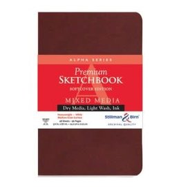 STILLMAN & BIRN ALPHA SKETCHBOOK SOFTCOVER 5.5X8.5