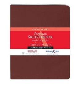 STILLMAN & BIRN ALPHA SKETCHBOOK SOFTCOVER 8X10