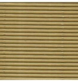 FOLIA E-FLUTE 19.5X27.5 METALLIC GOLD
