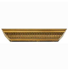11X14 FLUTED GOLD FRAME