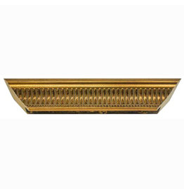 16X20 FLUTED GOLD FRAME