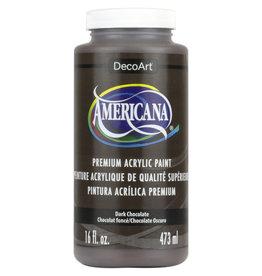 DECOART AMERICANA 16OZ DARK CHOCOLATE