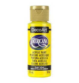 DECOART AMERICANA 2OZ BRIGHT YELLOW