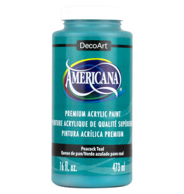 DECOART AMERICANA 16OZ PEACOCK TEAL