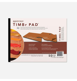 NEW WAVE TIMBER PALETTE PAD RECTANGLE 9X12