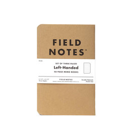 FIELD NOTES FIELD NOTES ORIGINAL RULD LEFT-HANDED/3