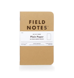 FIELD NOTES FIELD NOTES ORIGINAL KRAFT PLAIN 3-PACK
