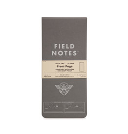 FIELD NOTES FIELD NOTES FRONT PAGE REPORTER SET/2