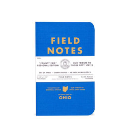 FIELD NOTES FIELD NOTES LIMITED EDITION COUNTY FAIR NY 3-PACK