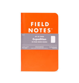 FIELD NOTES FIELD NOTES LIMITED EDITION EXPEDITION 3-PACK