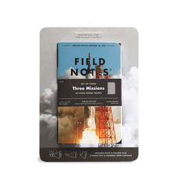 FIELD NOTES FIELD NOTES LIMITED EDITION THREE MISSIONS GRID 3/PK