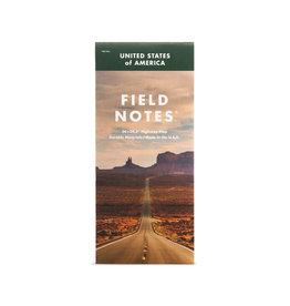 FIELD NOTES FIELD NOTES LIMITED EDITION MILE NATIONAL HIGHWAY MAP