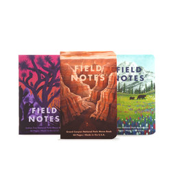 FIELD NOTES FIELD NOTES LIMITED EDITION NATIONAL PARK 3PK GRAND CANYON, JOSHUA TREE, MT. RAINIER