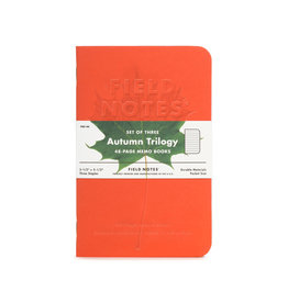 FIELD NOTES FIELD NOTES LIMITED EDITION AUTUMN TRILOGY 3PK