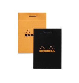RHODIA RHODIA BLACK GRAPH PAD 3X4