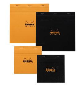 RHODIA RHODIA BLACK GRAPH PAD 5.75X5.75