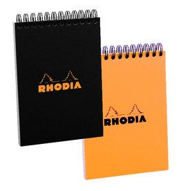 RHODIA RHODIA ORANGE WIRE LINED PAD 6X8.25