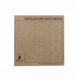 CIRCULAR GRID SKETCHBOOK