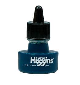 HIGGINS HIGGINS DYE-BASED GREEN 1oz