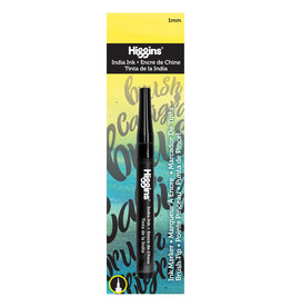 HIGGINS HIGGINS INDIA INK BRUSH MARKER