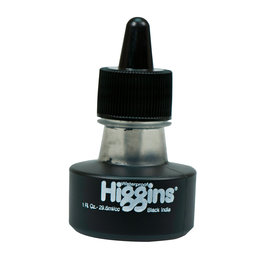 HIGGINS HIGGINS PIGMENTED BLACK INDIA 1oz