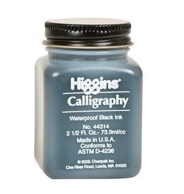 HIGGINS HIGGINS WATERPROOF CALLIGRAPHY BLACK 2oz