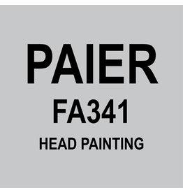 HULL'S FA341 - HEAD PAINTING
