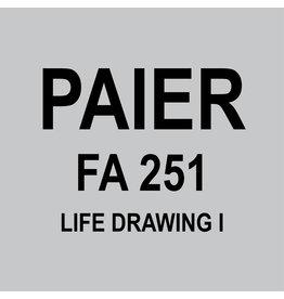 JOHN FALATO - FA251 - LIFE DRAWING I
