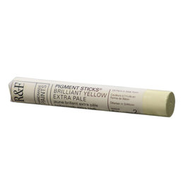 R&F PAINTS R&F STICK 38ml BRILLIANT YELLOW PALE