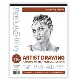 ARTIST SKETCH VELLUM PAD #116 11X14